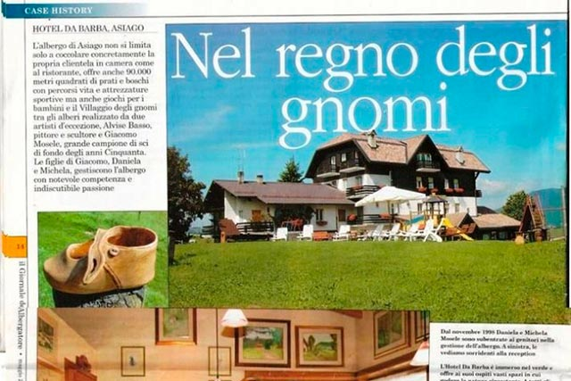Articles The Village Of Gnomes In Asiago