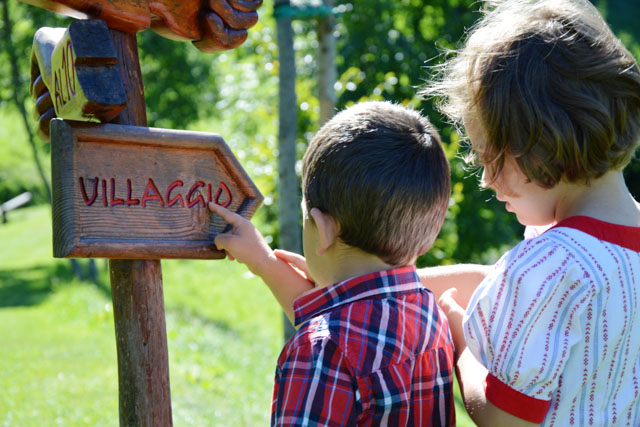 cartello villaggio