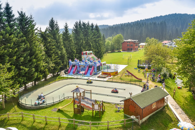 il parco giochi del villaggio degli gnomi